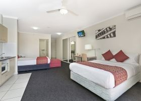 Disabled Room - The Wellington Apartments Hotel Brisbane