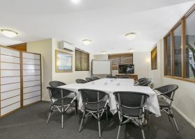 Conference Room Set Up - The Wellington Apartments Hotel Brisbane