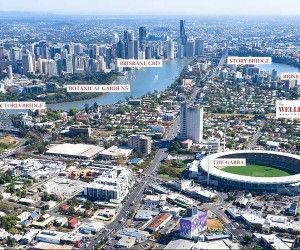Brisbane accommodation near The Gabba
